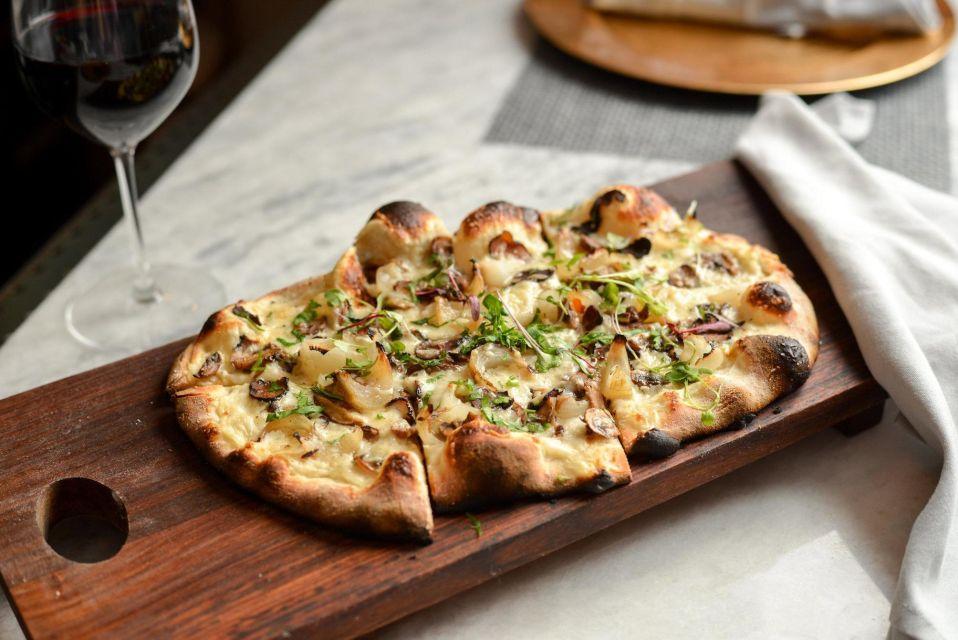 Wood Burnt Pizza