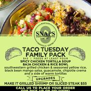 SNAPS Family Packs-Taco Tuesday