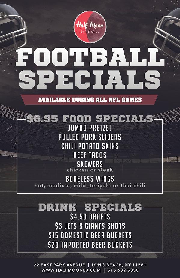 HMB Football Specials