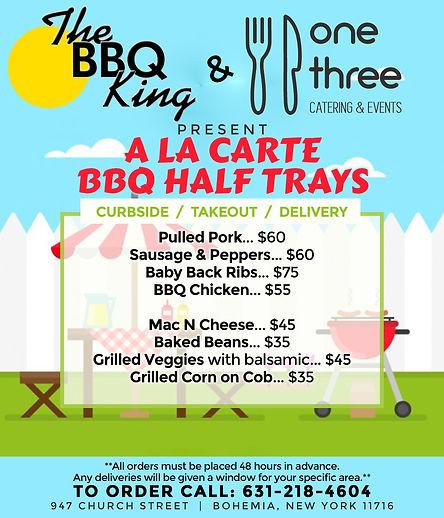BBQ King Half Trays