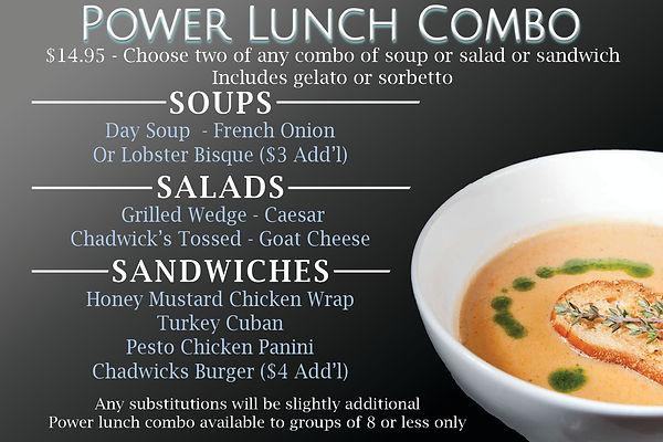 Chadwicks Power Lunch