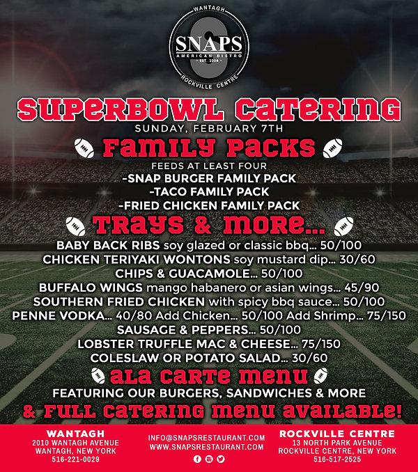 SNAPS Superbowl Specials