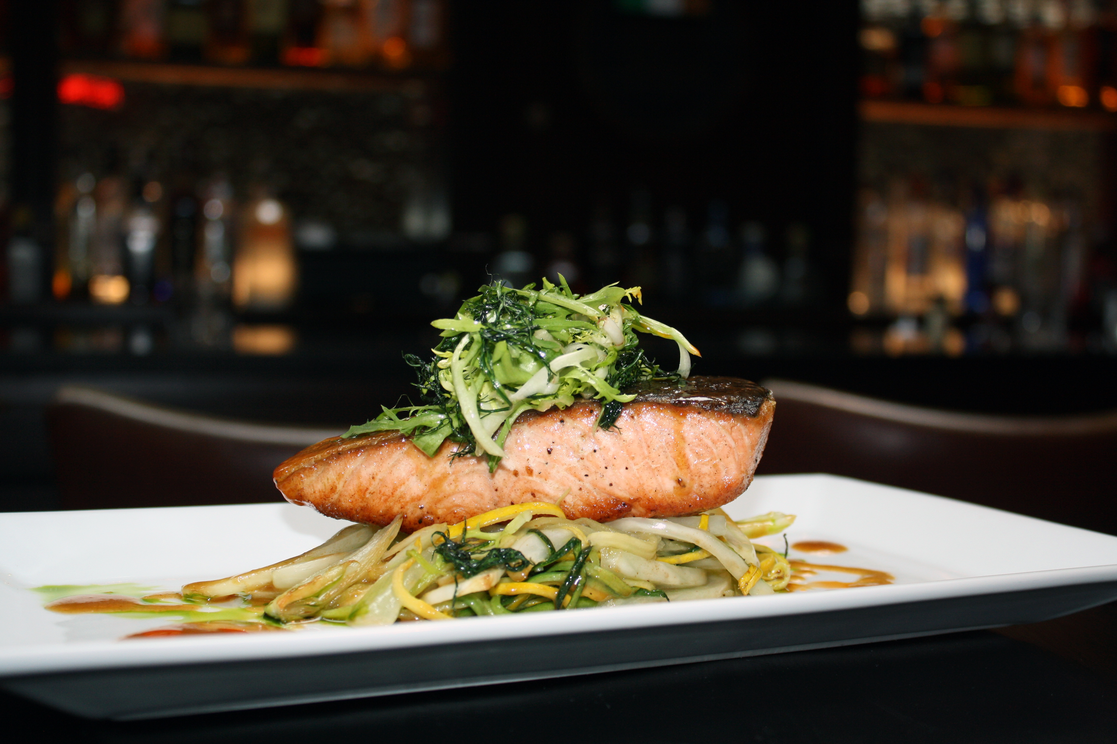 Salmon The Blacksmith in NYC