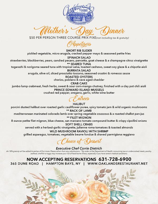 Oaklands Mothers Day Menus Dinner.jpg