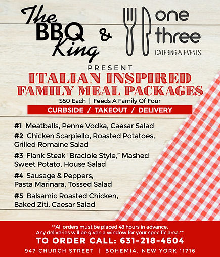 BBQ King Family Meal