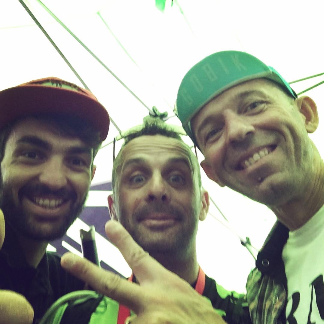con Josè Hermida e Mirko Pirazzoli