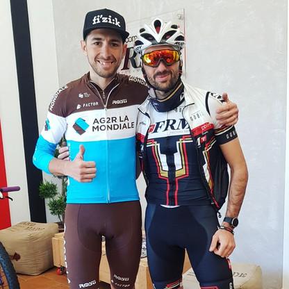 con Matteo Montaguti