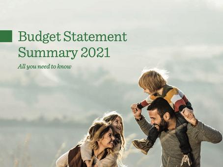Spring 2021 Budget Statement