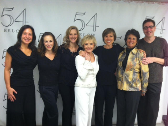 54 Below NYC with Florence Henderson
