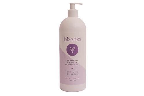 Shampoo Capilar Purificante con Miel de Abeja