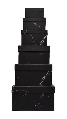 MA-229 BLACK MARMOL BOX