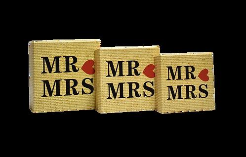MA-098 MR & MRS BOX