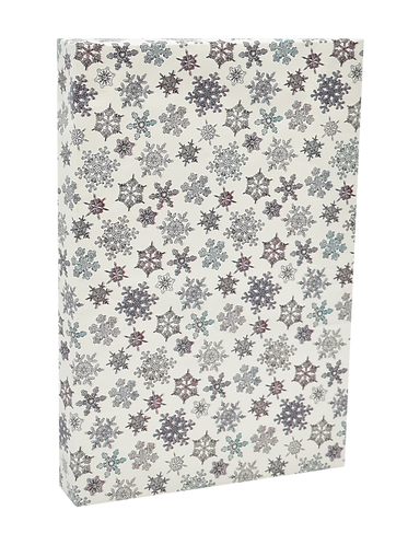 ANX-084WHITE SNOWFLAKES