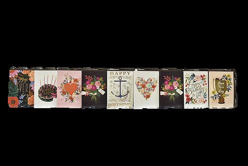 V-006 FLOWERS CARDS