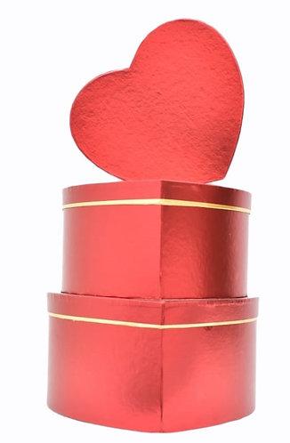MA-228 RED METALLIC HEART