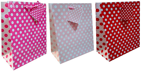 MGB-244 RED & PINK DOTS