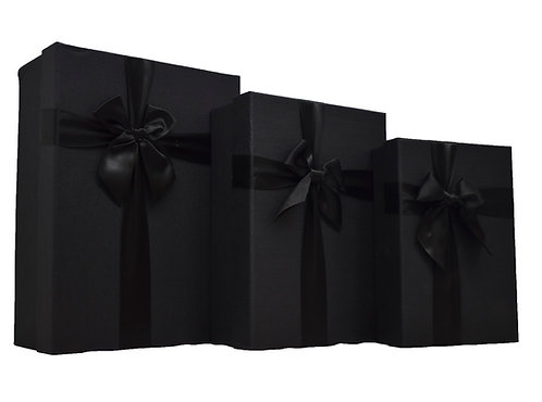 MA-206 BLACK WITH BOW