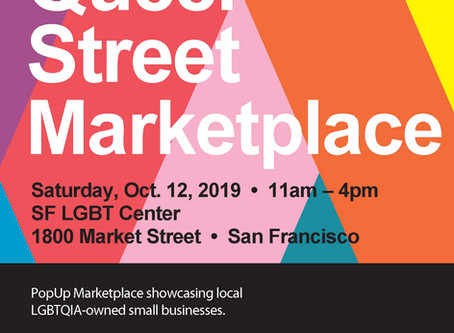 Queer Street Marketplace at the LGBT Center in San Francisco