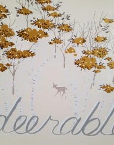 adeerable close with deer