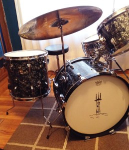 Ludwig 1965 Drum Kit – After