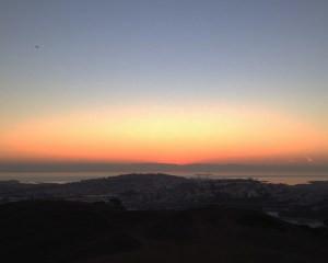 sf sunrise plane