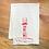 sutro tower kitchen towel