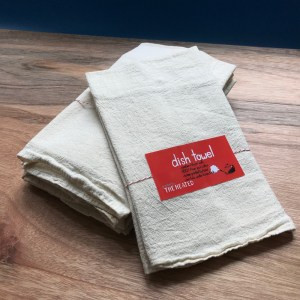 packaged dish towel from The Heated in San Francisco California