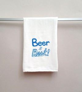 Beer Is Best AB WHT MED