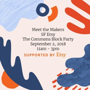 SF Etsy Civic Center Commons Block Party September
