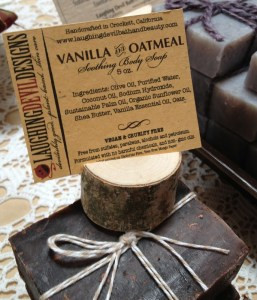 Laughing Devil Vanilla Oatmeal Soap
