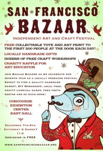 San Francisco Bazaar Flyer