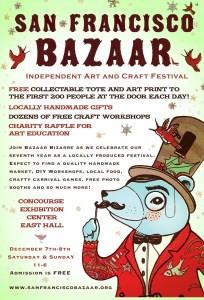 San Francisco Bazaar This Weekend!