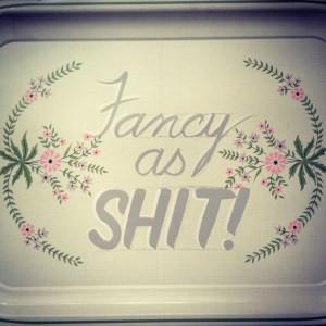 tray fancy