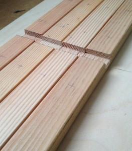 rack drill marks