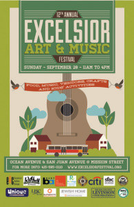 Excelsior Art & Music Festival This Sunday