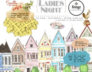 Forage SF Ladies Night and Ice Cream Social June 6th