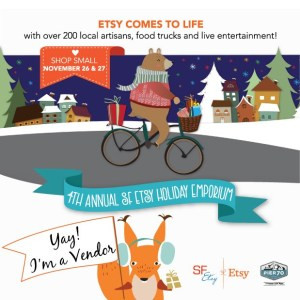 SF Etsy Indie Holiday Emporium