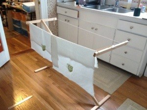 Drying Racks – Roughly Assembled