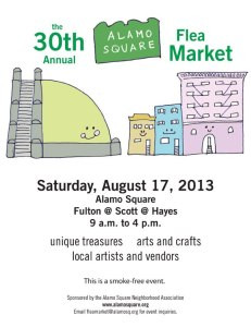 Alamo Square Flea Market This Saturday