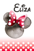 SIGNAGE BOARD - Minnie Mouse