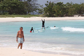 Surf school Barbados, beginner surf lessons Barbados, learn to surf in Barbados