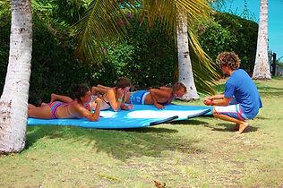 Beginner surf lessons in Barbados