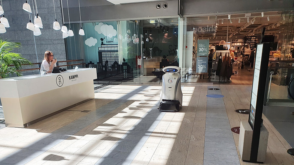 puhdistusrobotti kauppakeskus kamppi.jpg