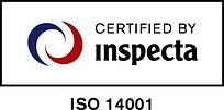 ISO 14001 inspecta sertifikaatti