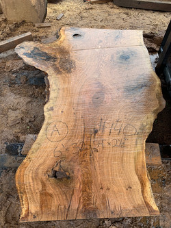 Wide white oak