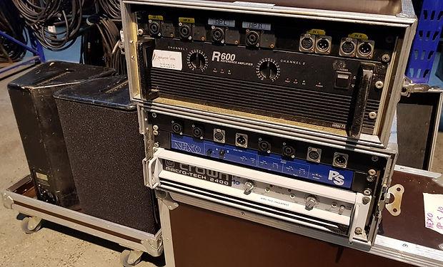 Nexo PS10 + filtre + ampli  macr-tech 24