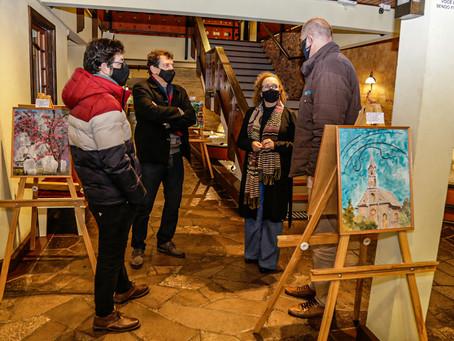 Câmara de Vereadores sedia mostra de obras de arte no mês de julho