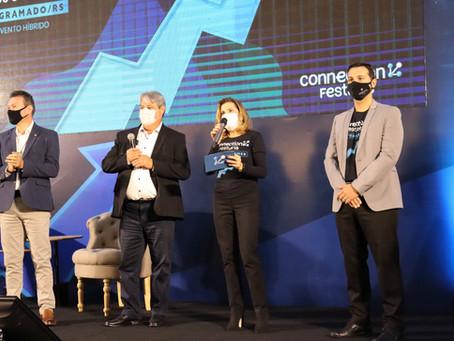 Na abertura do Festuris Connection, prefeito Nestor Tissot destaca a retomada econômica
