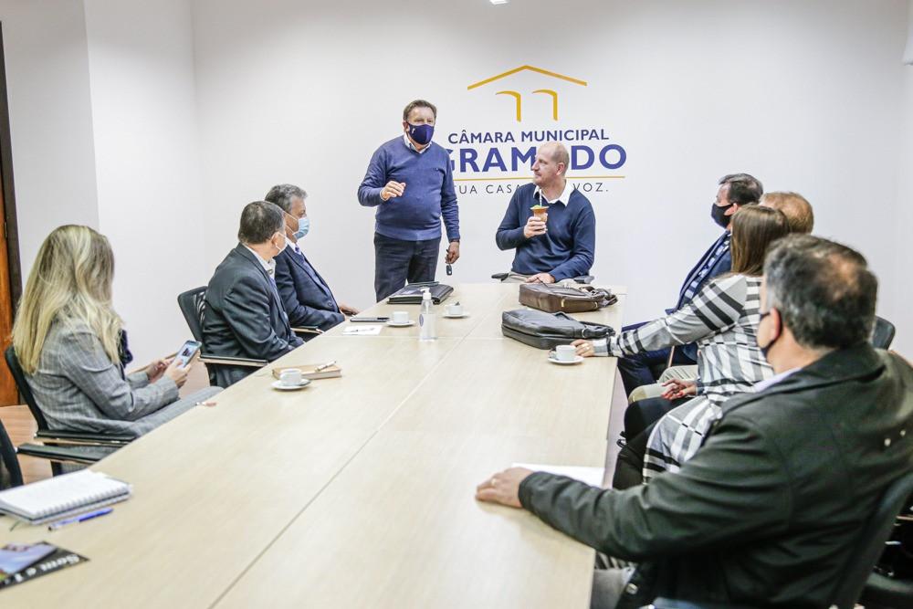 O intuito da reunião foi de promover uma troca de experiências entre Gramado e a região das Missões.