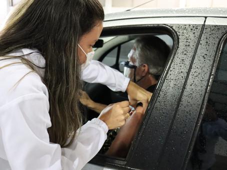 Saúde alerta que quase 400 pessoas ainda não tomaram a segunda dose da vacina contra Covid-19